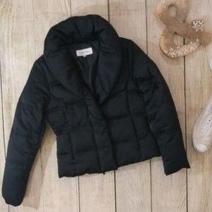 Calvin Klein down shawl collar puffer coat